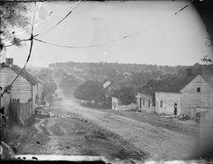 Main Street in Sharpsburg, Maryland, September 1862, after the Battle of Antietam