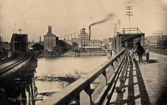 Peoria bridge - taken from Peoria Public Library Facebook page Pekin Illinois, East Peoria, Back In The Day, Old Pictures, Past, History, Foyer, Awesome, Places