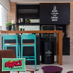 Adesivo Decorativo - Keep Calm and Drink Beer #keepcalm #decor #beer #adesivo