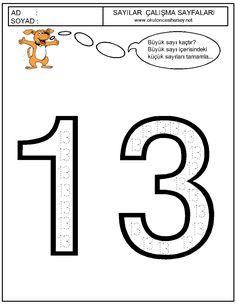 63 En Iyi 10 20 Sayılar Görüntüsü Math Activities Preschool Ve