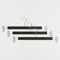 Lacquered Skirt Hanger (Set of 3) - Hangers and Hooks - Accessories | Zara Home Canada