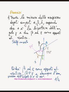 Esercizi svolti di geometria piana(angoli consecutivi, angoli opposti al vertice etc.)