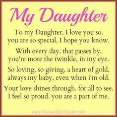 ~My Daughter~