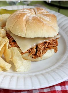 Sweet & Smokey Maple Pulled Chicken