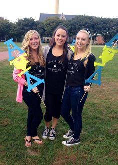 Alpha Xi Delta at University of Rhode Island #AlphaXiDelta #AlphaXi #BidDay #sorority #RhodeIsland
