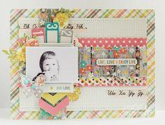 Vintage Bliss Simple Stories - frame Zielonooka