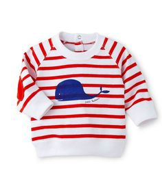 Sweat bébé garçon rayé à motif blanc Ecume / rouge Brulant. Retrouvez notre gamme de vêtements et sous-vêtements pour bébé, enfant, mode femme et homme.