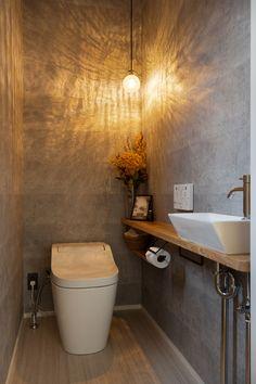 Wc Design, Toilet Design, Small Bathroom Inspiration, Small Toilet Room, Bedroom Decor For Women, Powder Room Design, Tiny Bathrooms, Bathroom Design Luxury, Home Room Design
