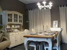 Landelijk Dining Room, Dining Table, Style Deco, Decoration, Country Style, Shabby Chic, Heart, Projects, Diy