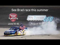 VIDEO: Q & A with NASCAR driver Brad Keselowski