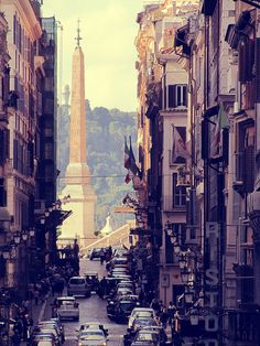 Rome, there's something about these old streets that I love