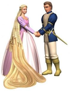 Barbie As Rapunzel 2002 Poster