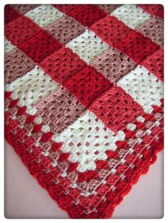 I have been enjoying making gifts for friends. This first is a blanket ordered…