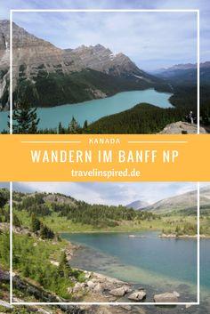 Im Banff Nationalpark in Kanada kann man super wandern. Zum Beispiel durch den Johnston Canyon oder auf den Sunshine Meadows.