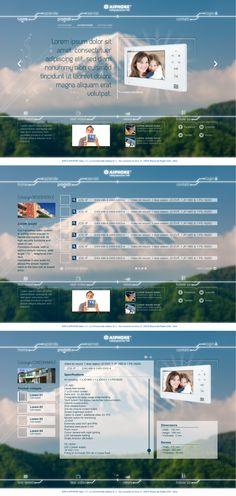 Ideazione e realizzazione dell'aspetto grafico delle pagine del sito (compresi gli elementi decorativi/icone).