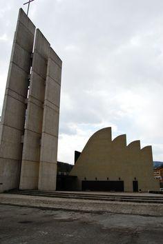 Santa Maria Assunta Church, Alvar Aalto | Riola | Italy | MIMOA