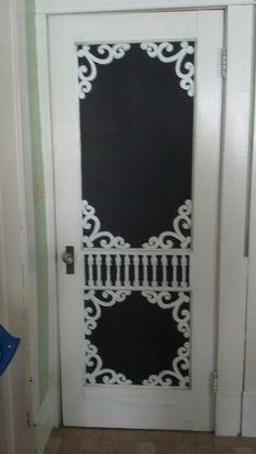 My awesome kitchen chalk board..