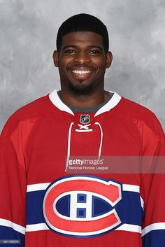 P.K. Subban #76 of the Montreal Canadiens poses for his official headshot for the 2015-2016 season on September 17, 2015 at the Bell Sports Complex in Brossard, Quebec, Canada.