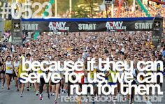 because if they can serve for us, we can run for them...   <3  submitted byteamskinnychallenge