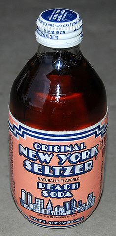 New York Seltzer - 80s drinks