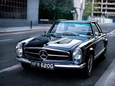 sucksqueezebangblow: Driven - Mercedes 280SL Pagoda
