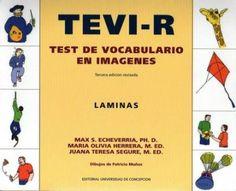 TEVI-R Speech Therapy, Psychology, Language, Teaching, Education, Chile, Homeschool, Kids, Speech Pathology