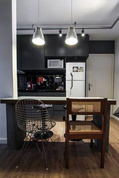 Apartamento Alto do Ipiranga: Cozinhas modernas por SP Estudio