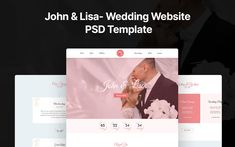 John and Lisa- Wedding PSD PSD Template Wedding Templates, Psd Templates, Wedding Album, Wedding Planner, Wedding Ceremony, Wedding Venues, Silhouette Photography, Planner Template, Wedding Website