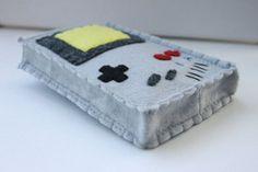 Handmade felted Nintendo Gameboy case for Nintendo 3DS XL by JadedRabbit, $35.00