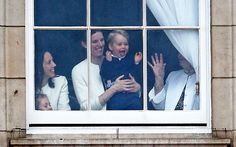 Video: Prince George watches on excitedly as Royal family arrive at Trooping the Colour parade - Telegraph