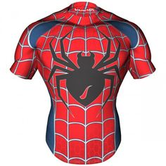 Spider Theme Rugby Shirts