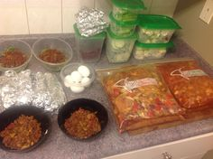 Paleo weekly meal prep - starting 2013 off right!