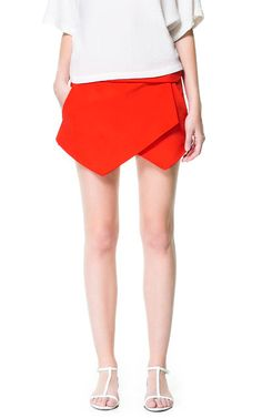 MINI SKORT - Skirts - Woman | ZARA United States