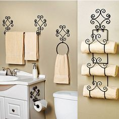 4-pc Scroll Bath Set                                                                                                                                                     Mais