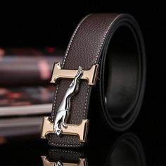MENS AUTOMATIC DESIGNER RATCHET AUTO BELTS ONLY LUXURY LEATHER BELTS ONLY  43
