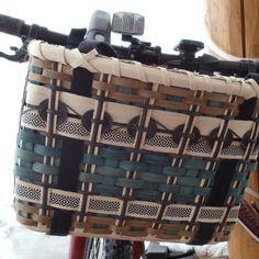 Bike Basket U-choose Bike Shopper - SANDPOINT 7/20 from J. Choate Basketry   Square Market
