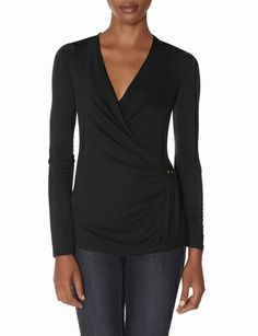 Studded Drape Layering Top from THELIMITED.com #ItsTime #TheLimited