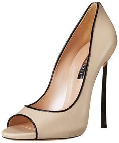 4f3bfa64bb2 Casadei Women s Silver High Heel Dress Pump