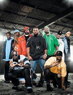 It's Wu-Tang, rushin yo' gang, crushin the game. Pretty thugs, clutchin they chain, hand cuppin they thang.