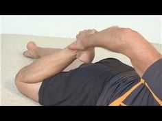 Hip and knee stretches for arthritis pain