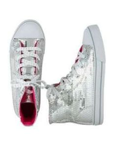 Justice shoes for girls | Justice Sequin High Top Sneaker customer reviews product reviews