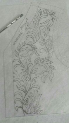 This Pin was discovered by Nah Tambour Embroidery, Embroidery Motifs, Hand Embroidery Designs, Embroidery Applique, Mexican Embroidery, Embroidery Techniques, Quilting Designs, Beading Patterns, Needlework