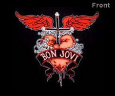Another Bon Jovi Logo! Jon Bon Jovi, 80s Hair Metal, 80s Rock, Great Smiles, Def Leppard, Some Image, Logo Images, Music Albums, Man Alive