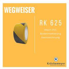 RK 625 - Bodenmarkierungsband #Krueckemeyer #Klebeband #Kleben #Adhesive #Tape #Markierung