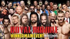 WWE Royal Rumble 2015 - Royal Rumble Match - WWE 2K15 - YouTube