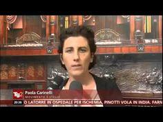 """Paola Carinelli (M5S): Tg2 """"Cose da fare subito"""""""