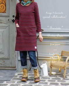 a line. knit. pockets.