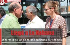 Llegó a La Habana la tercera de las cinco delegaciones de víctimas que participarán en los diálogos de paz [http://www.proclamadelcauca.com/2014/10/llego-a-la-habana-la-tercera-de-las-cinco-delegaciones-de-victimas-que-participaran-en-los-dialogos-de-paz.html]