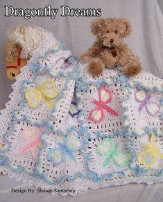 Free Easy Baby Crochet Patterns | Starry Starry Night Baby Afghan Free Crochet Pattern – Inner Child
