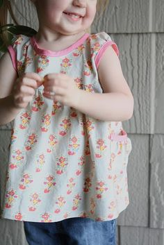 step by step sew along for the 'Leah Tunic'
